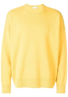 AMI oversize fit crewneck sweater