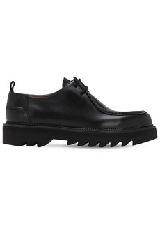 AMI Paraboot Leather Lace-up Shoes