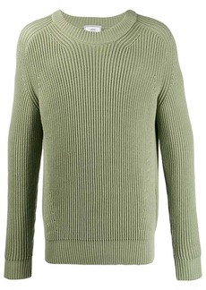 AMI ribbed roll-neck knitted jumper
