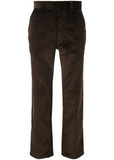 AMI straight corduroy trousers
