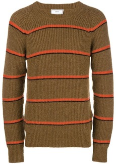 AMI Striped Crewneck Sweater