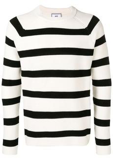 AMI Striped crew neck Sweater Raglan Sleeves