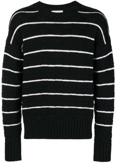 AMI Striped Oversized Sweater