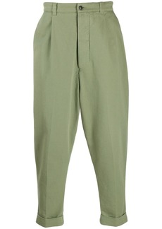 AMI tapered leg trousers