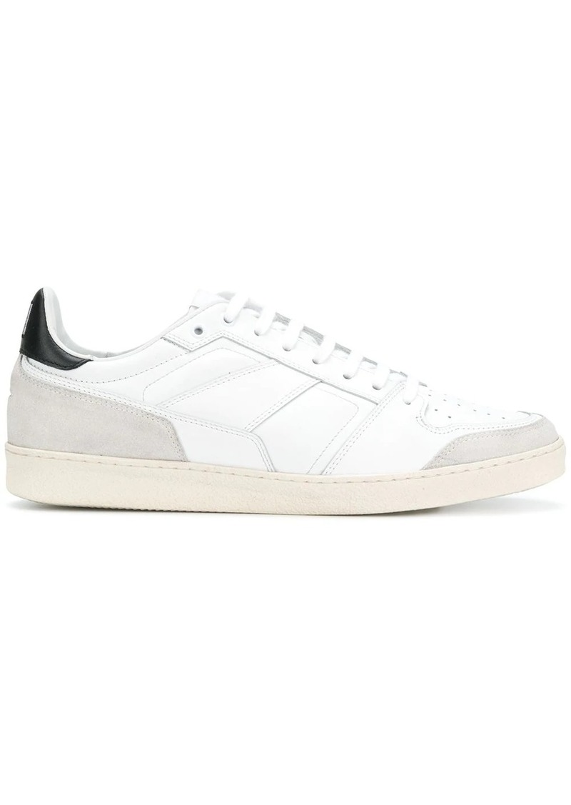 AMI thin-laced low trainers