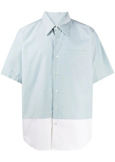 AMI two-tone shortsleeve shirt