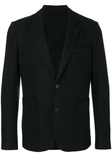 AMI Unlined Soft Two Button Jacket