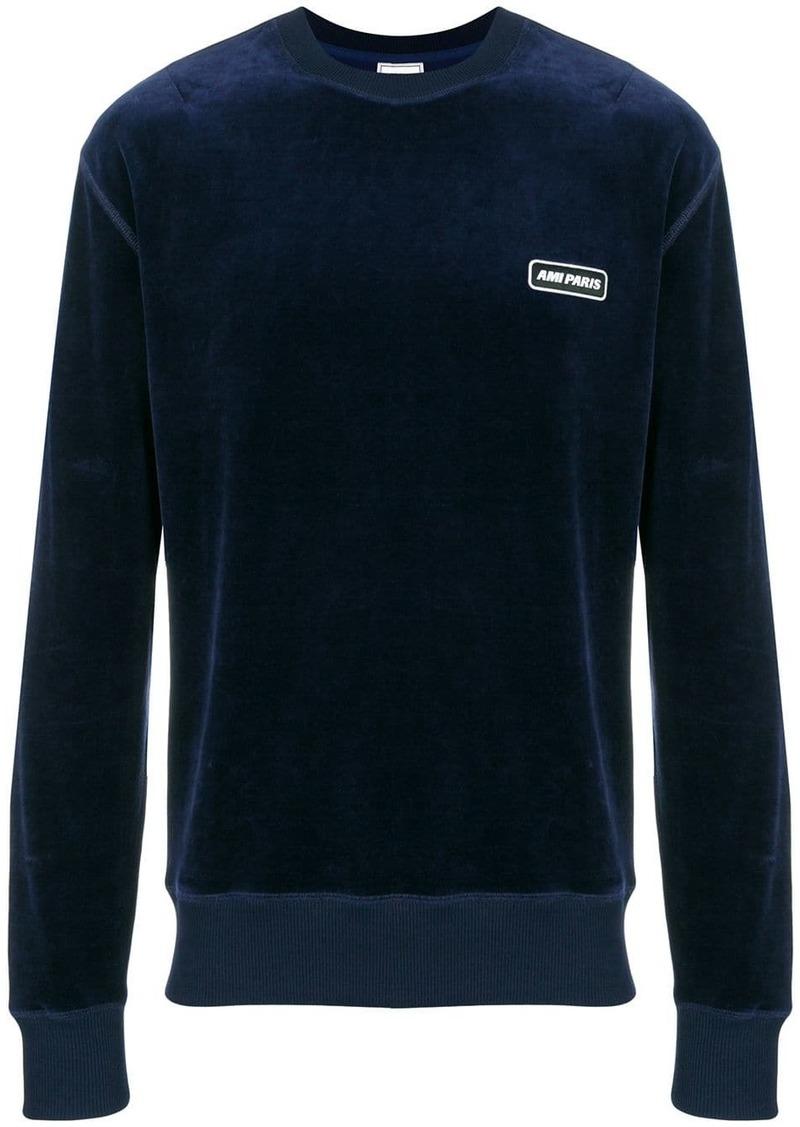 Velvet Ami Paris Patch Sweatshirt
