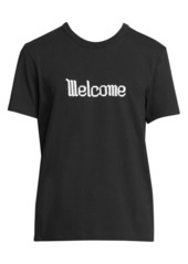 AMI Welcome Cotton Tee