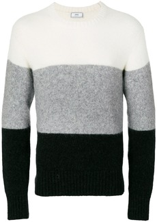 AMI Wide Stripes Crewneck Sweater