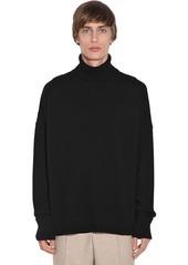 AMI Wool & Cashmere Knit Sweater
