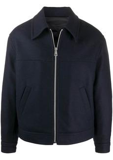 AMI zip-up shirt jacket