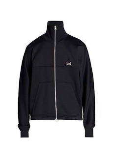 AMI Zip-Up Technical Jacket