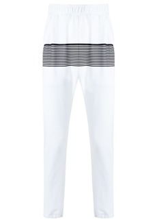 AMIR striped track trousers