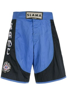 AMIR embroidered patches Luta shorts