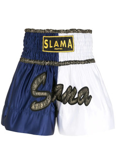 AMIR embroidery Luta shorts