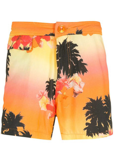 AMIR Ilha de Hibiscus shorts