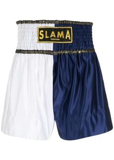 AMIR logo Luta shorts