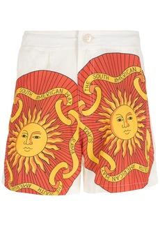 AMIR print Sol shorts
