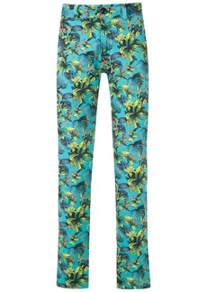 AMIR straight-fit printed trousers