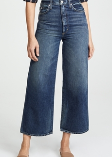 AMO Ava Crop Wide Leg Jeans
