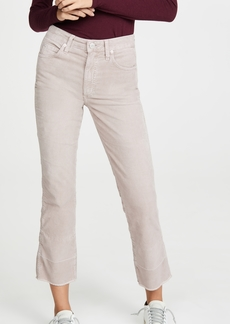 AMO Bella Velveteen High Rise Slight Boot Cut Jeans