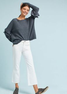 AMO Mid-Rise Cropped Flare Jeans