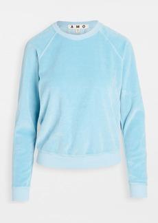 AMO Velour Sweatshirt
