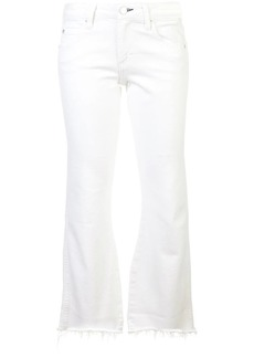 AMO crop flared jeans