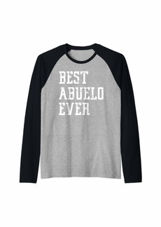 El Mejor Abuelo Del Mundo Amo A Mi Abuelo Amo A Mi Abuelito Raglan Baseball Tee