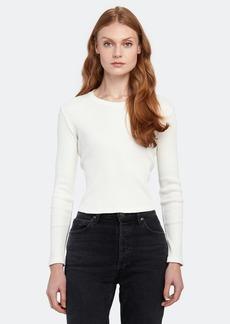 AMO Long Sleeve Rib T-Shirt - XS - Also in: L, M