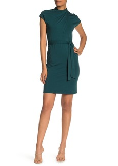 Amour Vert Amaryllis Waist Tie Dress