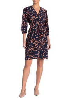 Amour Vert Femi Floral Waist Tie Dress