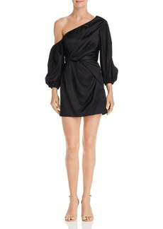 Amur Alessandra One-Shoulder Mini Dress