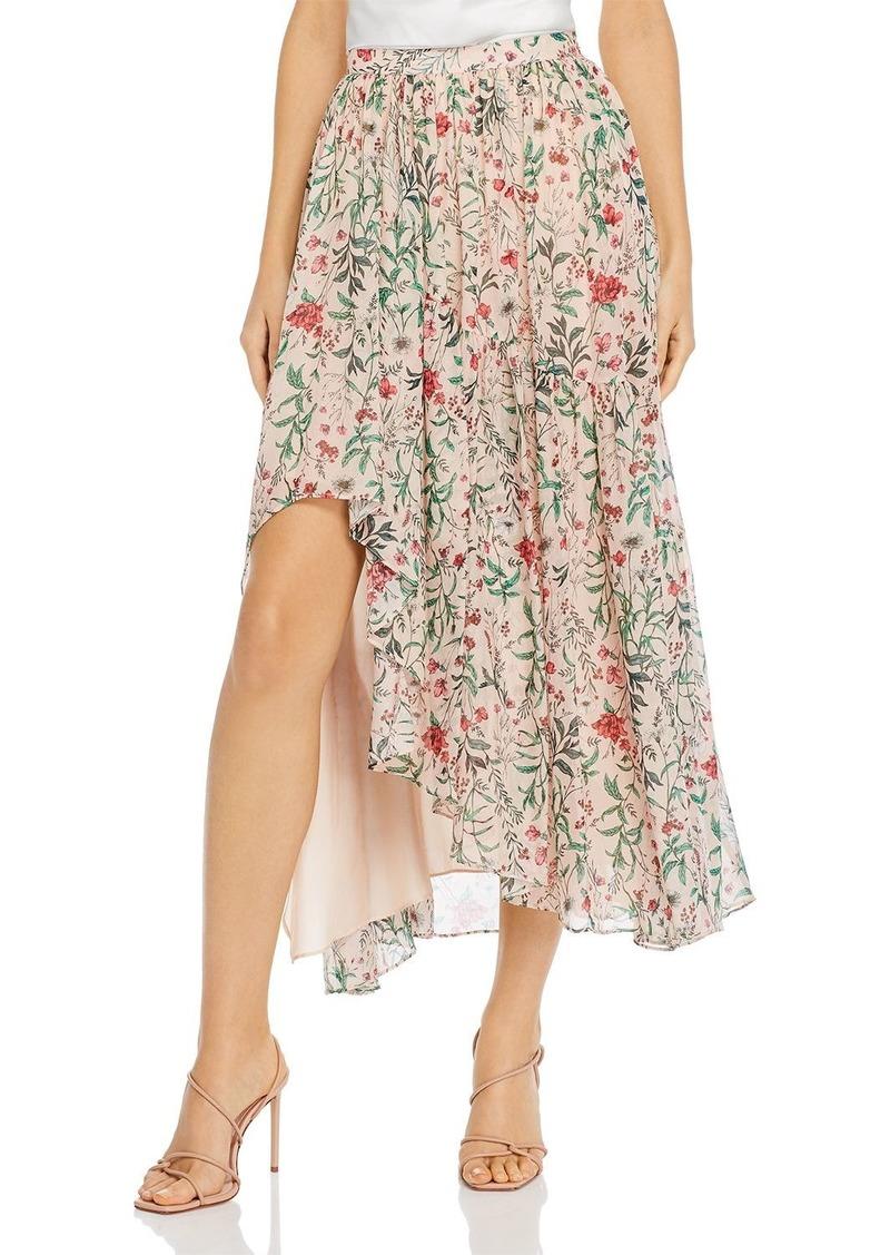 Amur Floral Silk Maxi Dress