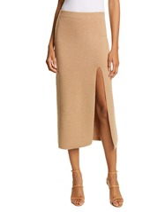 AMUR Jara Wool Blend Knit Midi Skirt