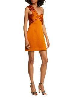 AMUR Misha One-Shoulder Cocktail Dress