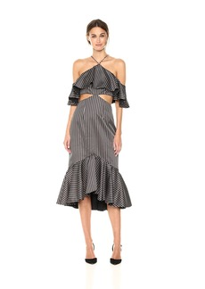 AMUR Women's Agnes Striped Dress