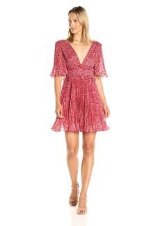 AMUR Women's Quinn Dress red