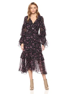 AMUR Women's Rumi Wrap Dress