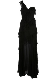 Amur asymmetric maxi dress