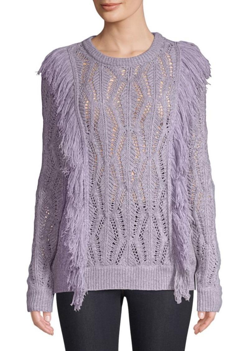 Amur Carla Fringe Sweater