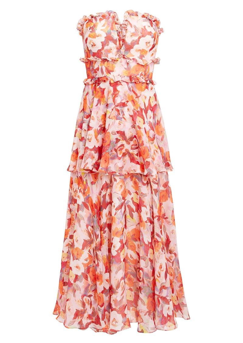 a52bcb35e39 Amur Darla Bustier Dress