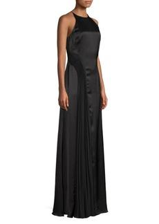 Amur Erica Halter Column Dress