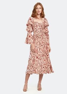 Amur Filipa Sweetheart Gathered Midi Dress - 00 - Also in: 12, 2