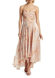 Amur Lumi Cutout Pleated Dress