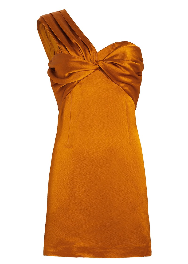 Amur Misha One-Shoulder Mini Dress