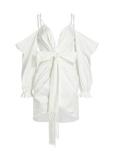 Amur Off-The-Shoulder Tie Dress