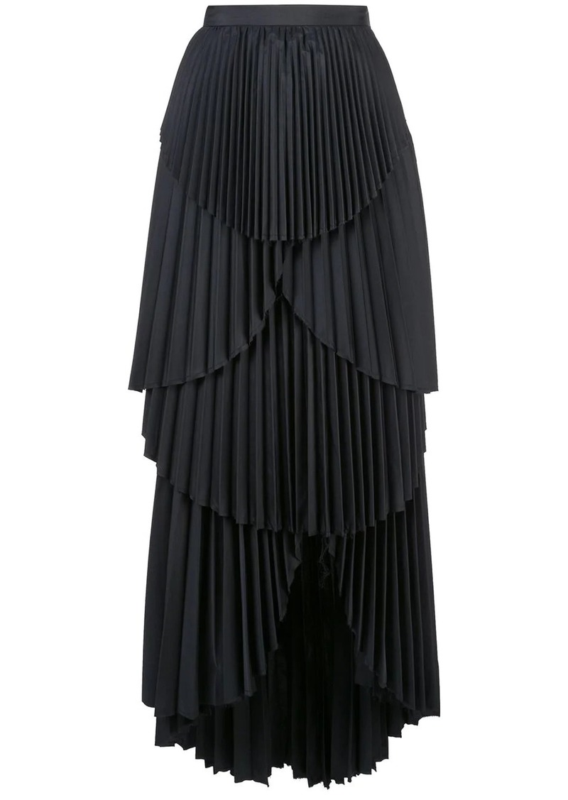 Ophelia pleated skirt