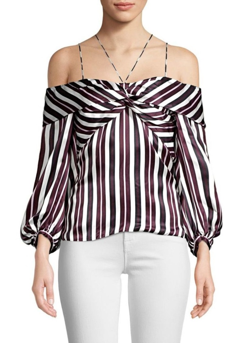 65068ae961adc Amur Shantel Off-The-Shoulder Striped Top Now  209.16